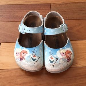Birkenstock Elsa and Anna shoes blue size eur 27